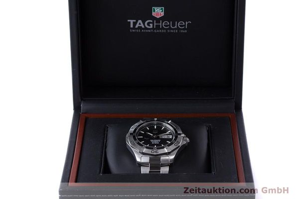 Used luxury watch Tag Heuer Aquaracer steel automatic Kal. 5 ETA 2836-2 Ref. WAF2013  | 160721 07