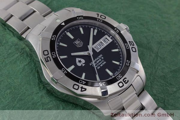 Used luxury watch Tag Heuer Aquaracer steel automatic Kal. 5 ETA 2836-2 Ref. WAF2013  | 160721 16