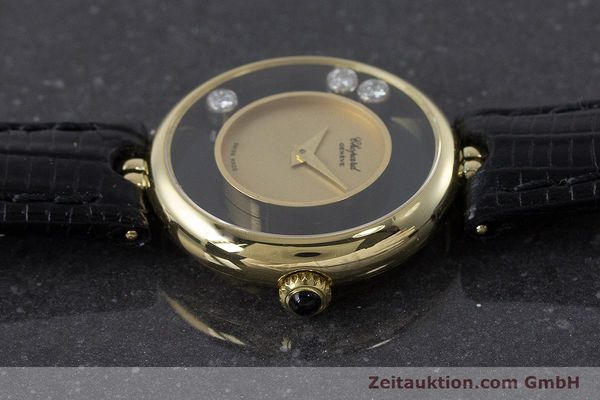 reloj de lujo usados Chopard Happy Diamonds oro de 18 quilates cuerda manual Kal. 2442 Ref. 4036  | 160728 05