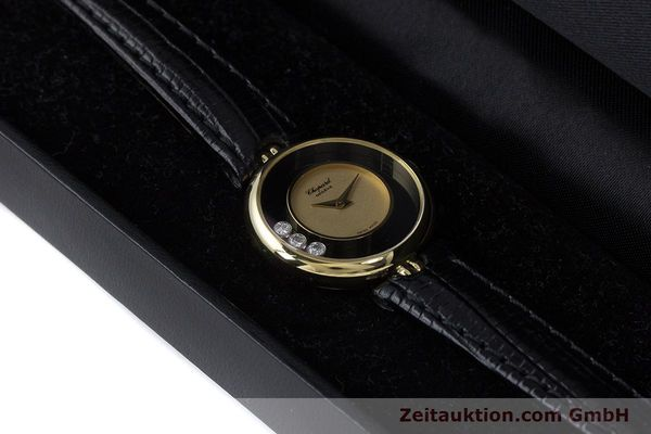 reloj de lujo usados Chopard Happy Diamonds oro de 18 quilates cuerda manual Kal. 2442 Ref. 4036  | 160728 07