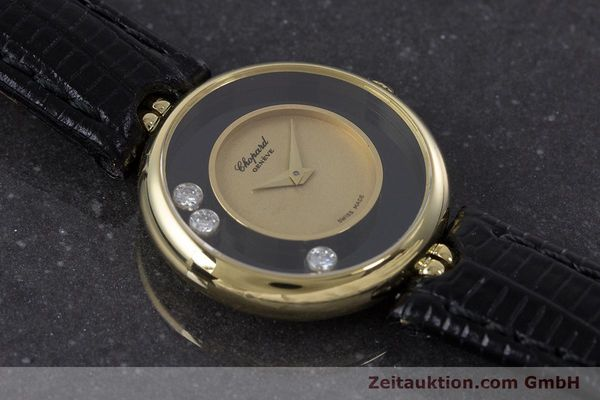 reloj de lujo usados Chopard Happy Diamonds oro de 18 quilates cuerda manual Kal. 2442 Ref. 4036  | 160728 13
