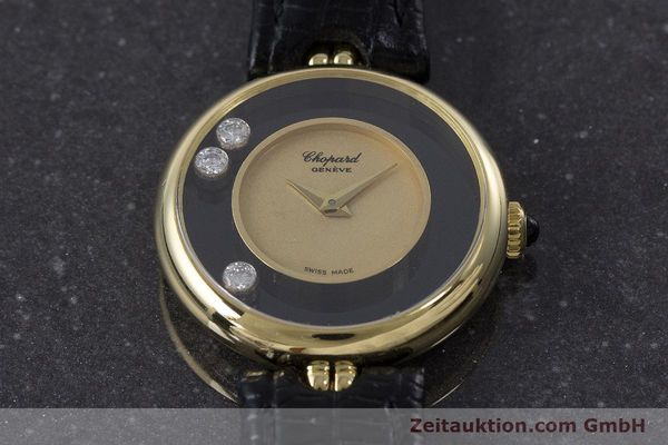 reloj de lujo usados Chopard Happy Diamonds oro de 18 quilates cuerda manual Kal. 2442 Ref. 4036  | 160728 14
