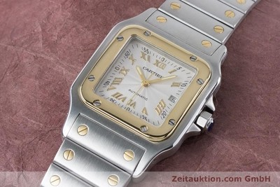 CARTIER SANTOS ACIER / OR AUTOMATIQUE KAL. 120 ETA 2000-1 LP: 7100EUR [160732]