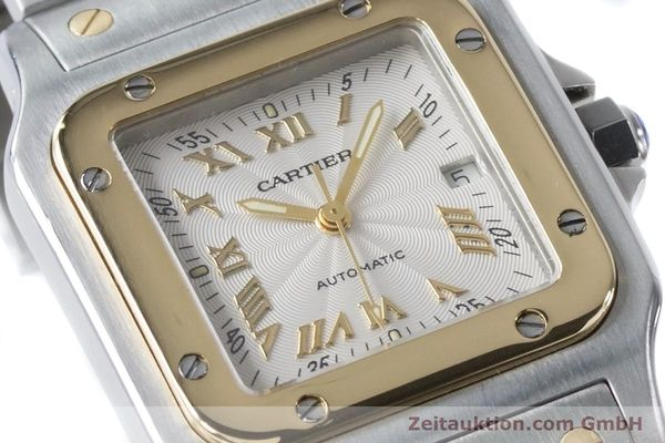 Used luxury watch Cartier Santos steel / gold automatic Kal. 120 ETA 2000-1 Ref. 2319  | 160732 02