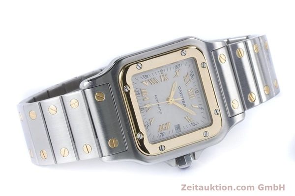 Used luxury watch Cartier Santos steel / gold automatic Kal. 120 ETA 2000-1 Ref. 2319  | 160732 03