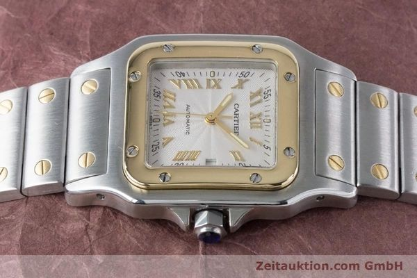 Used luxury watch Cartier Santos steel / gold automatic Kal. 120 ETA 2000-1 Ref. 2319  | 160732 05