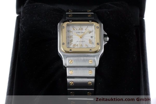 Used luxury watch Cartier Santos steel / gold automatic Kal. 120 ETA 2000-1 Ref. 2319  | 160732 07