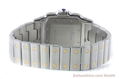 CARTIER SANTOS STEEL / GOLD AUTOMATIC KAL. 120 ETA 2000-1 LP: 7100EUR [160732]