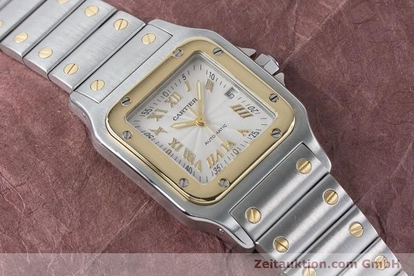 Used luxury watch Cartier Santos steel / gold automatic Kal. 120 ETA 2000-1 Ref. 2319  | 160732 12