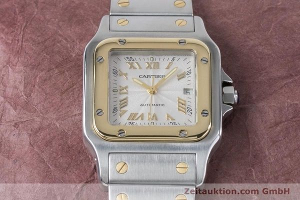 Used luxury watch Cartier Santos steel / gold automatic Kal. 120 ETA 2000-1 Ref. 2319  | 160732 13