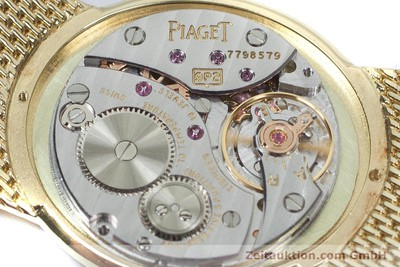 PIAGET 18 CT GOLD MANUAL WINDING KAL. 9P2 [160736]