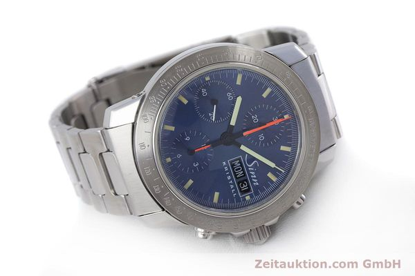 Used luxury watch Sinn Kristall chronograph steel automatic Kal. ETA 7750 LIMITED EDITION | 160740 03
