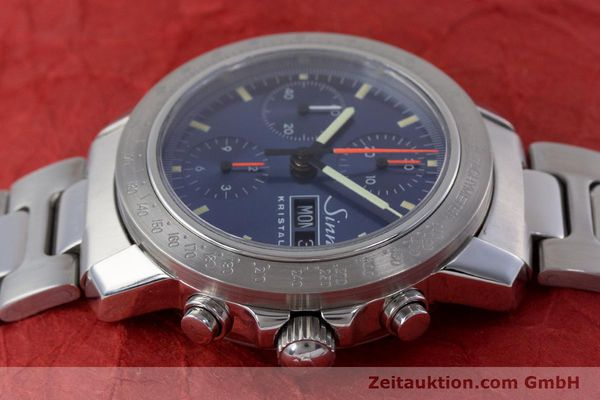 Used luxury watch Sinn Kristall chronograph steel automatic Kal. ETA 7750 LIMITED EDITION | 160740 05