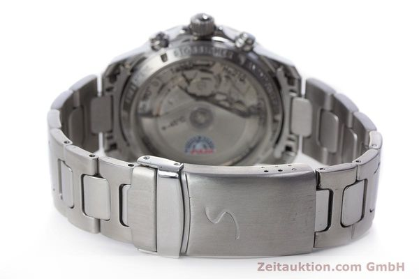 Used luxury watch Sinn Kristall chronograph steel automatic Kal. ETA 7750 LIMITED EDITION | 160740 11