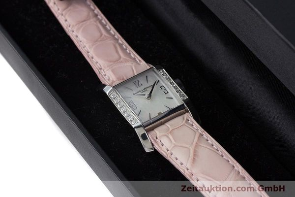 Used luxury watch Baume & Mercier Hampton steel quartz Kal. BM7111 ETA F03.111 Ref. 65516  | 160744 07
