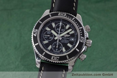 BREITLING SUPEROCEAN CHRONO II CHRONOGRAPH STAHL HERRENUHR A13341 NP: 4650,- EUR [160746]