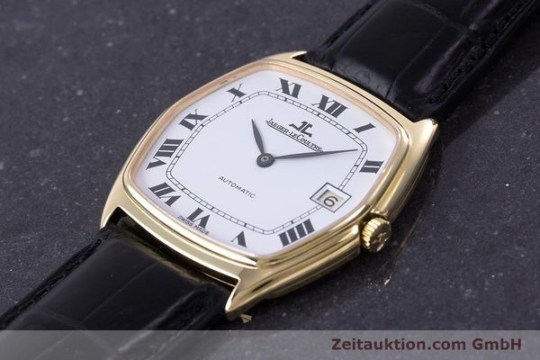 Used luxury watch Jaeger Le Coultre * 18 ct gold automatic Kal. 900  | 160748 01