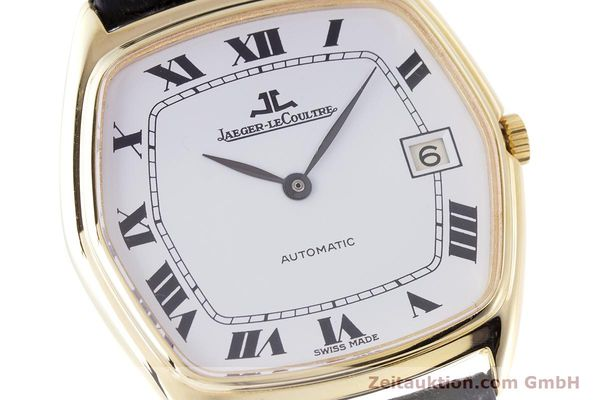 Used luxury watch Jaeger Le Coultre * 18 ct gold automatic Kal. 900  | 160748 02