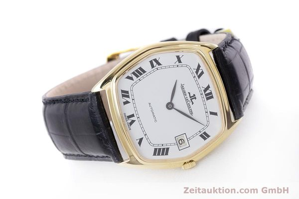 Used luxury watch Jaeger Le Coultre * 18 ct gold automatic Kal. 900  | 160748 03