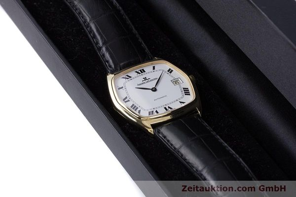 Used luxury watch Jaeger Le Coultre * 18 ct gold automatic Kal. 900  | 160748 07
