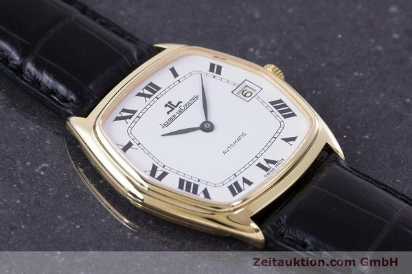 Used luxury watch Jaeger Le Coultre * 18 ct gold automatic Kal. 900  | 160748 13