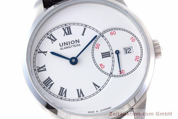 Used luxury watch Union Glashütte 1893 steel automatic Kal. 2899-993 Ref. D007.444A  | 160749 02