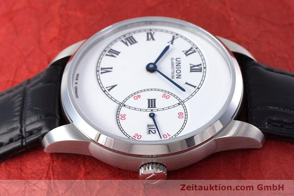 Used luxury watch Union Glashütte 1893 steel automatic Kal. 2899-993 Ref. D007.444A  | 160749 05