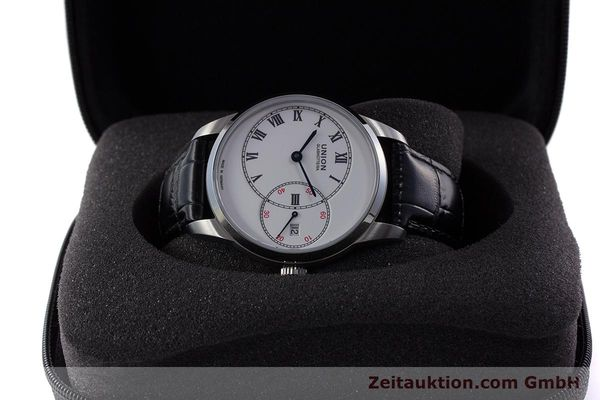 Used luxury watch Union Glashütte 1893 steel automatic Kal. 2899-993 Ref. D007.444A  | 160749 07