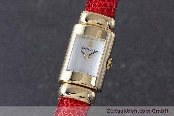 CORUM 18 CT GOLD QUARTZ KAL. ETA 976.001 [160750]