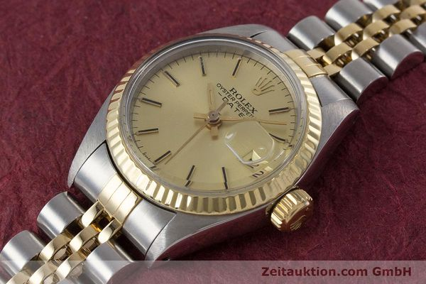 Used luxury watch Rolex Lady Date steel / gold automatic Kal. 2030 Ref. 6917  | 160751 01