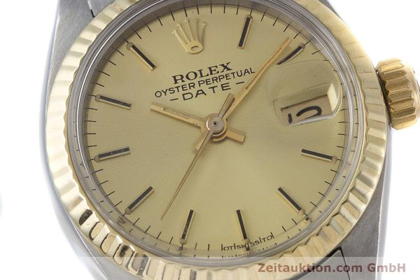 Used luxury watch Rolex Lady Date steel / gold automatic Kal. 2030 Ref. 6917  | 160751 02
