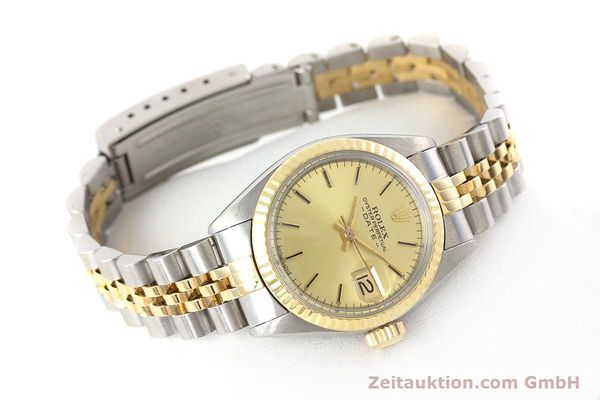 Used luxury watch Rolex Lady Date steel / gold automatic Kal. 2030 Ref. 6917  | 160751 03