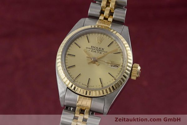 Used luxury watch Rolex Lady Date steel / gold automatic Kal. 2030 Ref. 6917  | 160751 04