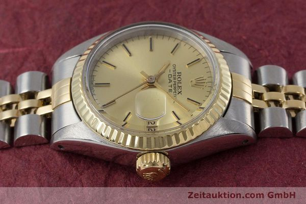 Used luxury watch Rolex Lady Date steel / gold automatic Kal. 2030 Ref. 6917  | 160751 05