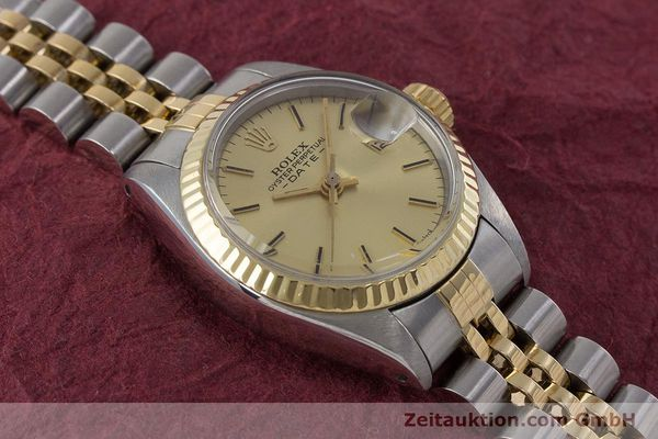 Used luxury watch Rolex Lady Date steel / gold automatic Kal. 2030 Ref. 6917  | 160751 16