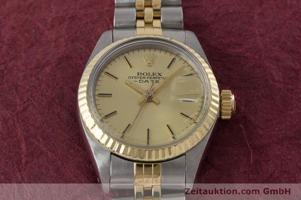 Used luxury watch Rolex Lady Date steel / gold automatic Kal. 2030 Ref. 6917  | 160751 17