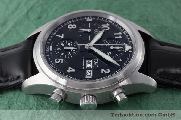 Used luxury watch IWC Fliegerchronograph chronograph steel automatic Kal. 79320 Ref. 3706  | 160753 05