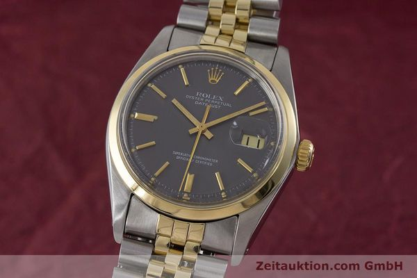 ROLEX DATEJUST STEEL / GOLD AUTOMATIC KAL. 1570 LP: 8800EUR [160754]