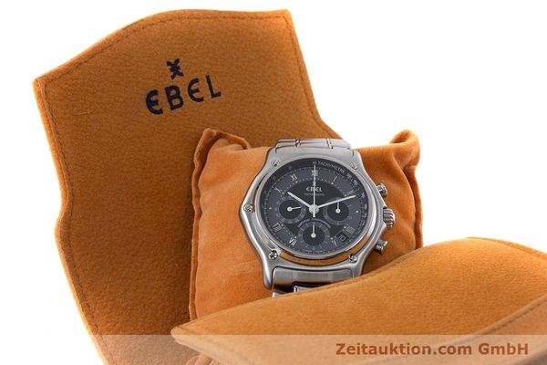 Used luxury watch Ebel Le Modulor chronograph steel automatic Kal. 137 Ref. 9137241  | 160757 07