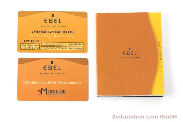 Used luxury watch Ebel Le Modulor chronograph steel automatic Kal. 137 Ref. 9137241  | 160757 08