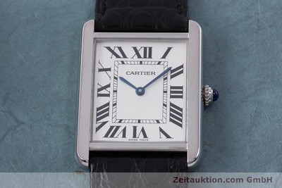 CARTIER TANK STEEL QUARTZ KAL. 690 LP: 2020EUR [160758]