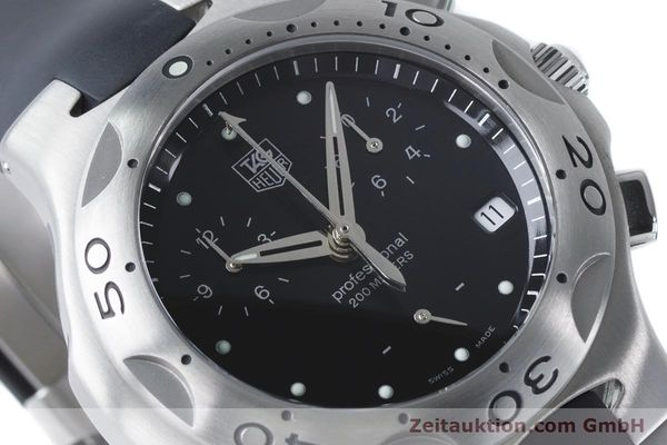 Used luxury watch Tag Heuer Kirium chronograph steel quartz Kal. 3.00 ETA 251262 Ref. CL1110-0  | 160760 02