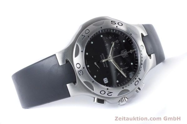 Used luxury watch Tag Heuer Kirium chronograph steel quartz Kal. 3.00 ETA 251262 Ref. CL1110-0  | 160760 03