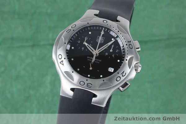 Used luxury watch Tag Heuer Kirium chronograph steel quartz Kal. 3.00 ETA 251262 Ref. CL1110-0  | 160760 04