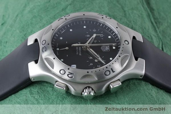 Used luxury watch Tag Heuer Kirium chronograph steel quartz Kal. 3.00 ETA 251262 Ref. CL1110-0  | 160760 05