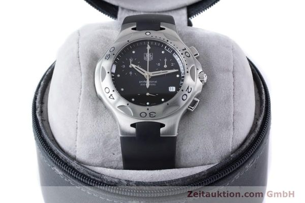 Used luxury watch Tag Heuer Kirium chronograph steel quartz Kal. 3.00 ETA 251262 Ref. CL1110-0  | 160760 07