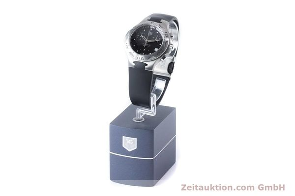 Used luxury watch Tag Heuer Kirium chronograph steel quartz Kal. 3.00 ETA 251262 Ref. CL1110-0  | 160760 11