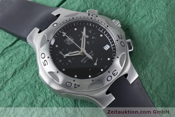 Used luxury watch Tag Heuer Kirium chronograph steel quartz Kal. 3.00 ETA 251262 Ref. CL1110-0  | 160760 14