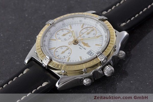 Used luxury watch Breitling Chronomat chronograph steel / gold automatic Kal. B13 ETA 7750 Ref. D13050.1  | 160767 01