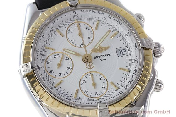 Used luxury watch Breitling Chronomat chronograph steel / gold automatic Kal. B13 ETA 7750 Ref. D13050.1  | 160767 02